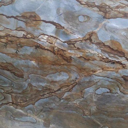 Pietra Cuarcita Blue Mare 2 Cm